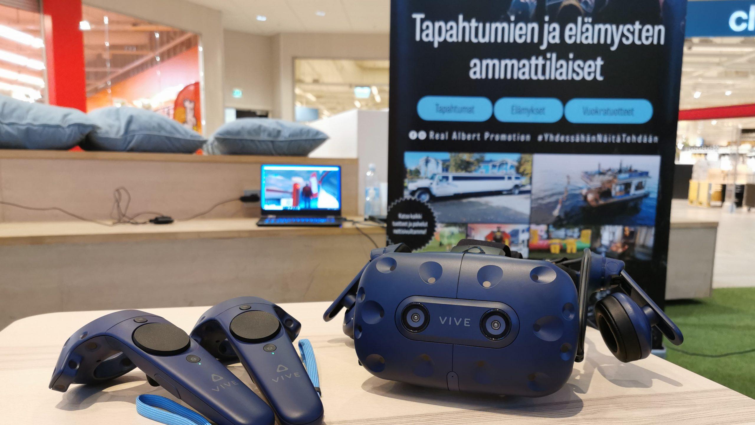Virtuaalipelit ja VIP -sauna