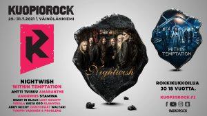 Kuopiorock 2021 esiintyjäjulkaisu