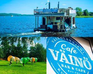 Saunalautta, Kuplafutis, Cafe Väinö